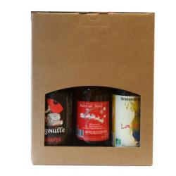 Pack surprise mensuelle de 3 bières (3x33cl)