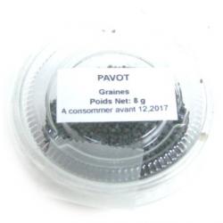 Pavot graines (8g)