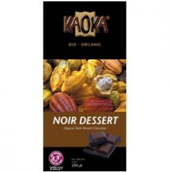 Chocolat noir pâtissier Kaoka 55% cacao (200g)