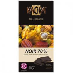 Chocolat noir Kaoka 70% cacao (100g)