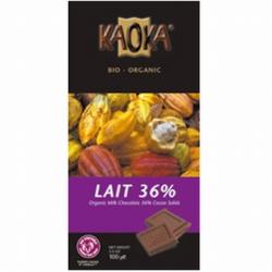 Chocolat au lait Kaoka (100g)