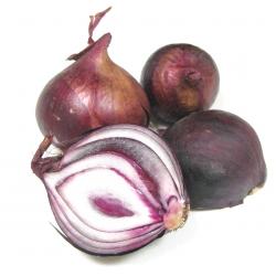 Oignons rouges bio (700g)