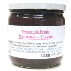 Dessert de pomme cassis (390g)