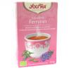 Infusion d'épices Yogi Tea Féminin (17 infusettes)