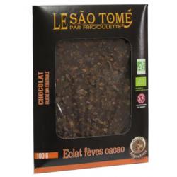 Tablette de chocolat noir bioéquitable à la noix de coco (100g)