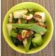Salade de céleri branche, pommes, comté et noisettes