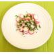 Salade de radis roses, oignon et persil