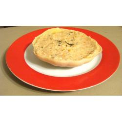 Crème de pâtisson aux noix et au Saint Marcellin