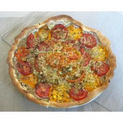 Tarte à la tomate et au brocoli (optionnel)