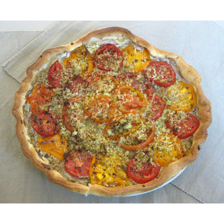Tarte à la tomate et au brocoli (optionnel)