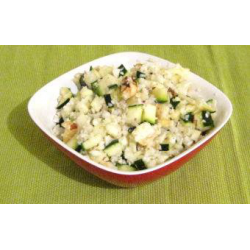 Taboulé de chou-fleur, courgette et fruits secs