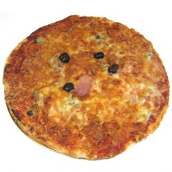 Pizza champignon fromage (1 personne)