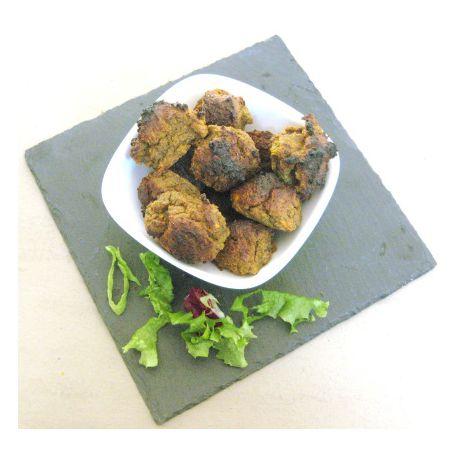 Boulettes de patate douce aux épices