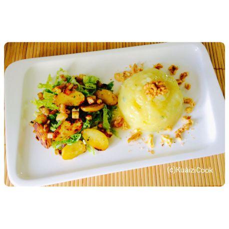 Céleri rave et pommes de terre
