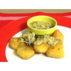 Pommes de terre sautées et sauce oseille
