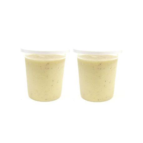Flan vanille au lait de chèvre (2x125g)