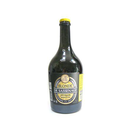 Bière blonde de la Brasserie des Cuves de Sassenage (75cl)