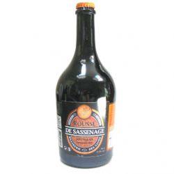 Bière rousse de la Brasserie des Cuves de Sassenage (75cl)