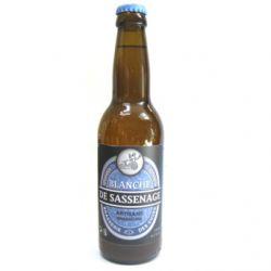 Bière blanche de la Brasserie des Cuves de Sassenage (33cl)