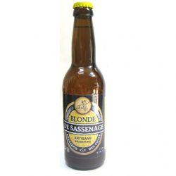 Bière blonde de la Brasserie des Cuves de Sassenage (33cl)