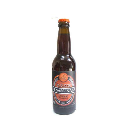 Bière rousse de la Brasserie des Cuves de Sassenage (33cl)