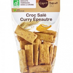 Croc salé long curry épeautre (200g)