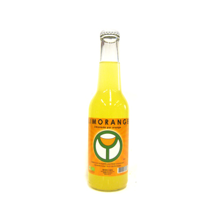 Limonade bio du Vercors à l'orange bio (25cl)