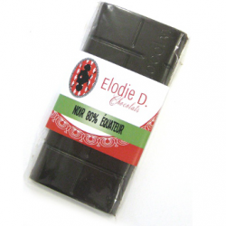 Chocolat noir 80%, Elodie D (80g)