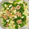 Salade de chou kale, avocats et noix