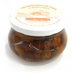 Pot de champignons de Paris au piment doux, 300gr