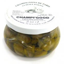 Pot de champignons de Paris à l'huile d'olive, 300gr