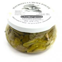 Pot de pleurotes à l'huile d'olive, 300gr