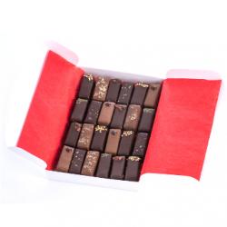 Ballotin de chocolats fins bio, Elodie D (15 chocolats)