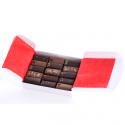 Ballotin de chocolats fins bio, Elodie D (15 chocolats, 130g)