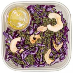 Salade de lentilles au chou rouge XL (Plat 1 pers.)