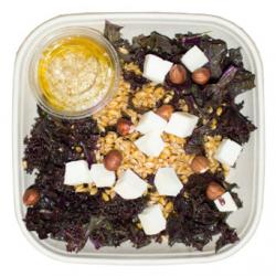 Salade de kale et épautre au chèvre (Plat 1 pers.)
