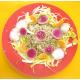 Salade de céréales, endives, avocats et radis