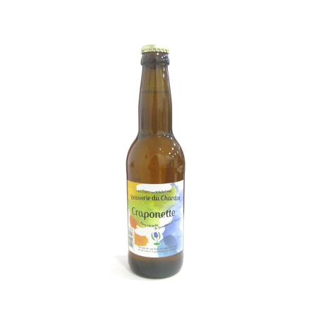 Bière blanche bio du Chardon (33cl)