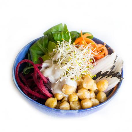 Salade Buddha Bowl végétarien cajonnaise au citron (entrée, 1personne)