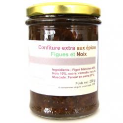 Confiture de figue, noix aux épices (230g)