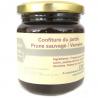 Confiture de prunes sauvages et verveine (230g)