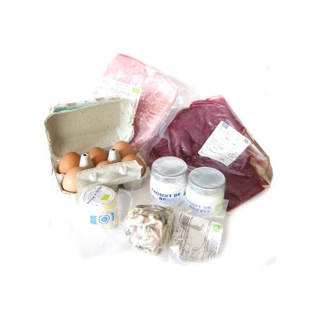 Panier produits frais (2 personnes)