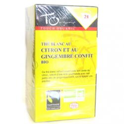 Thé citron-gingembre (20 sachets)