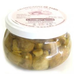 Pot de champignons de Paris à l'huile de noix, 250gr