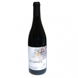 Vin rouge naturel bio, Alliance (75cl)