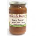Sauce tomate à l'ail des ours bio (340g)