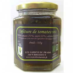 Confiture de tomates vertes (315g)