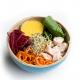Salade Buddha Bowl au poulet, sauce mangue et citron vert XL (plat, 1personne)