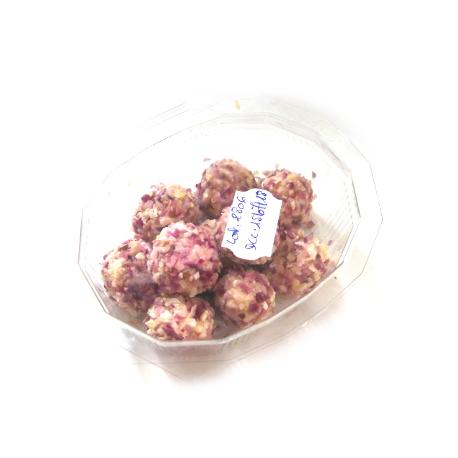 Boules apéritives échalote, Chèvrerie de la Gabote (boîte de 10 environ)