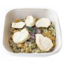 Risotto de poulet à la courge et sauge (plat, 1personne)